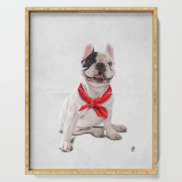 Frenchie (Wordless) Serving Tray