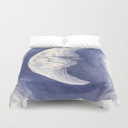 Bluu Moon Duvet Cover