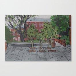 Oscar's Campus 5 Canvas Print