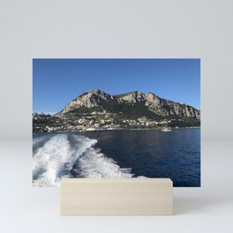 Leaving Capri Mini Art Print