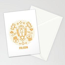 Paladin Emblem Stationery Cards