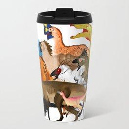 Prehistoric Line-up Travel Mug