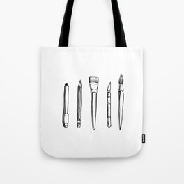 tools of the trade Tote Bag
