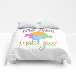 Autism Colors v1.0 Comforters