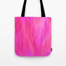 Neon Watercolor Tote Bag