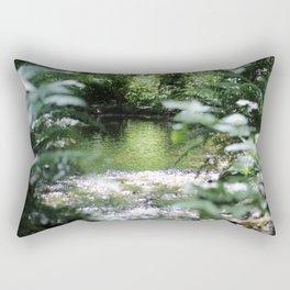 Shimmering Water Rectangular Pillow