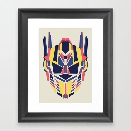 Prime Framed Art Print