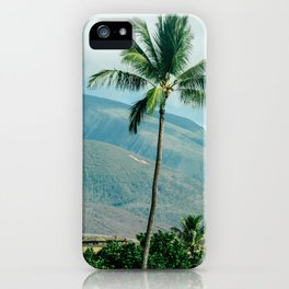 Palm Trees in Hawaii iPhone Case