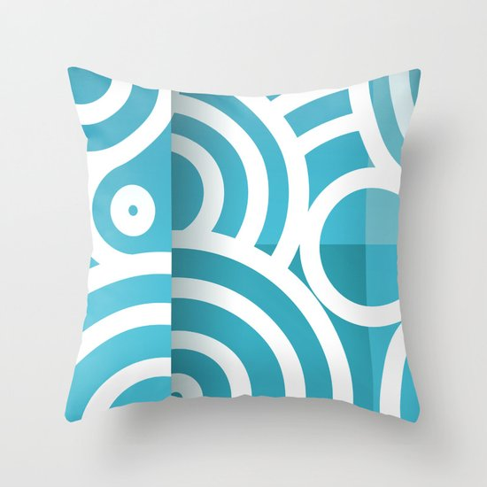 optical illusion_1 Throw Pillow