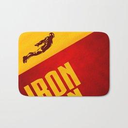 Classic Iron Man Poster Bath Mat