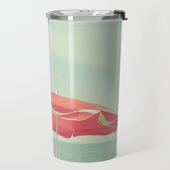 Deserted Beach Travel Mug