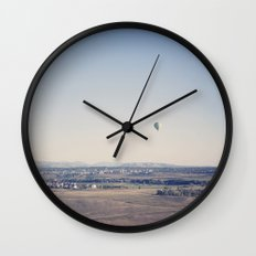 in the distance::denver Wall Clock