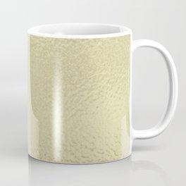 Simply Metallic in White Gold Coffee Mug