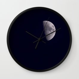Half-Moon Wall Clock