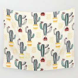 Cactus in a Pot small-scale Wall Tapestry