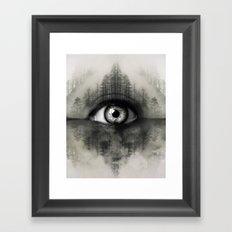 Misty Witness Framed Art Print