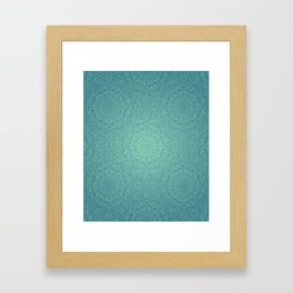 Alhambra Jade Framed Art Print