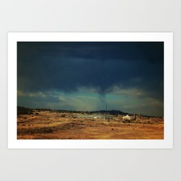 Leaving New Mexico III Art Print