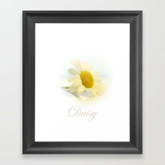 Daisy iphone case Framed Art Print