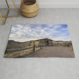 Wolfe Ranch - Arches National Park, Utah Rug