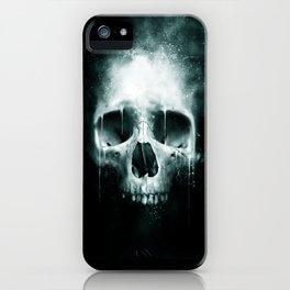 Skull Spatter iPhone Case