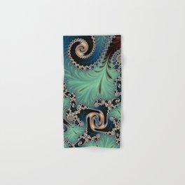 Azure - Fractal Art Hand & Bath Towel