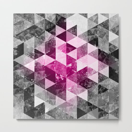 Abstract Geometric Background #4 Metal Print