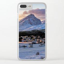 Borge, Lofoten Norway Clear iPhone Case