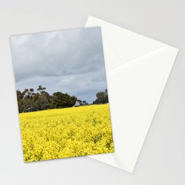 Yellow Fields of Foxhow Stationery Cards