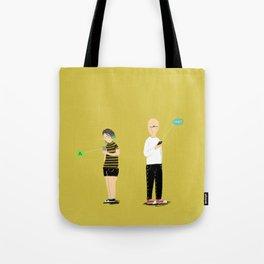 (anti)-Social Interaction Tote Bag