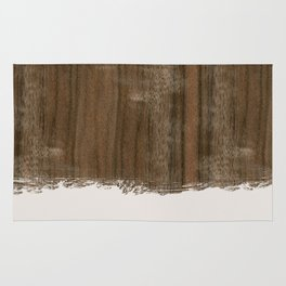Dipped Wood - Australian Walnut Rug