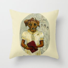 Dempsey Dog Throw Pillow