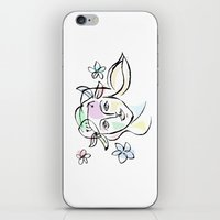 goddess iPhone & iPod Skins featuring Goddess by G_Stevenson