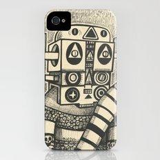 Dream of Blue Planet iPhone (4, 4s) Slim Case