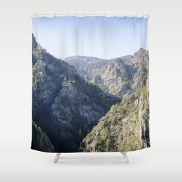 Soaring Mountains Shower Curtain