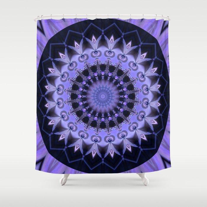 Mandala Path of enlightenment Shower Curtain