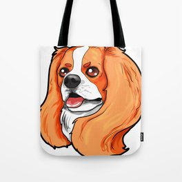 Cavalier King Charles Cocker Spaniel Dog Puppy Tote Bag