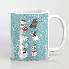 Christmas French Bulldog Coffee Mug