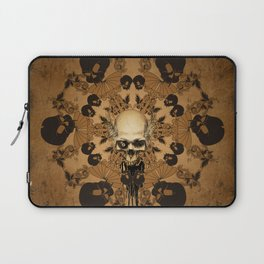 Awesome skull Laptop Sleeve