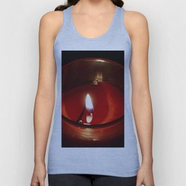 The Candle in the night Unisex Tank Top