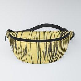 ikat stripes as sunny rays Fanny Pack