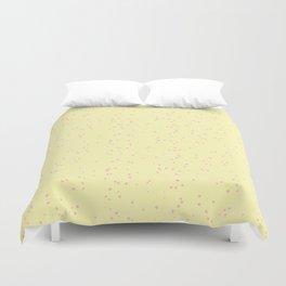 Light Violet Yellow Shambolic Bubbles Duvet Cover