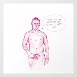 FAG 12 Art Print
