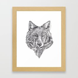 Hungry like the Wolf Framed Art Print