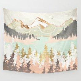 Winter Bay Wall Tapestry
