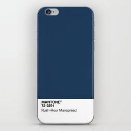 MANTONE® Rush-Hour Manspread iPhone Skin