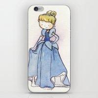 cinderella iPhone & iPod Skins featuring Cinderella by malipi