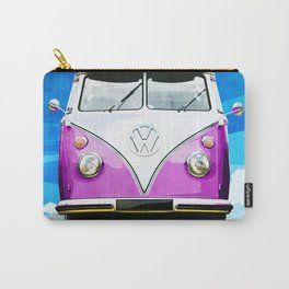 VW CAMPER PINK - ILLUSTRATION Carry-All Pouch