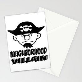 Neighborhood Villain Stationery Cards