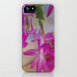 Pink catcus iPhone Case